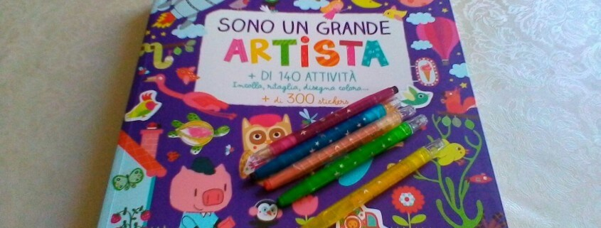 libro_sono un grande artista
