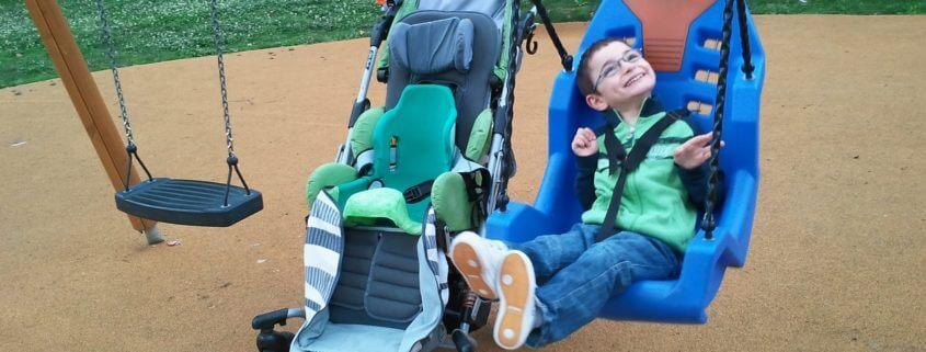 Bambino con handicap